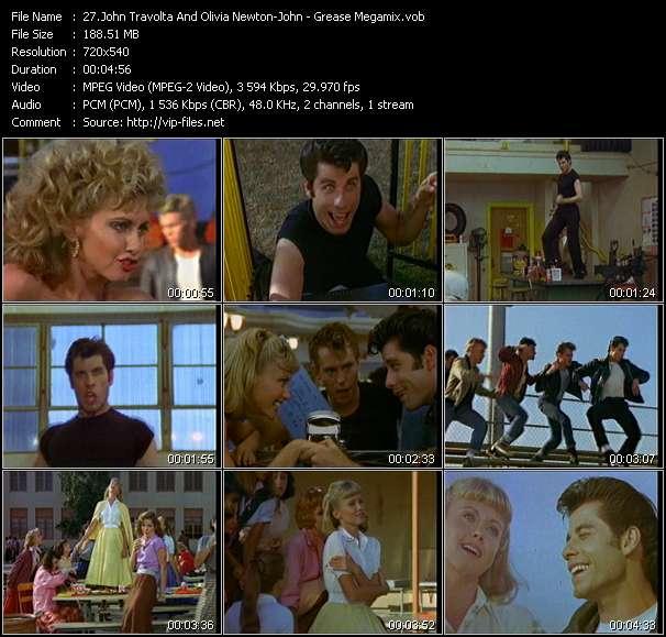 John Travolta And Olivia Newton-John video screenshot