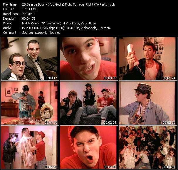 Beastie Boys video screenshot
