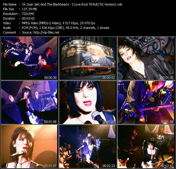 Joan Jett And The Blackhearts video screenshot