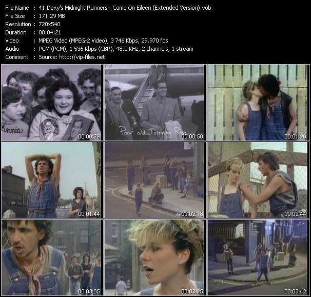 video Come On Eileen (Extended Version) screen