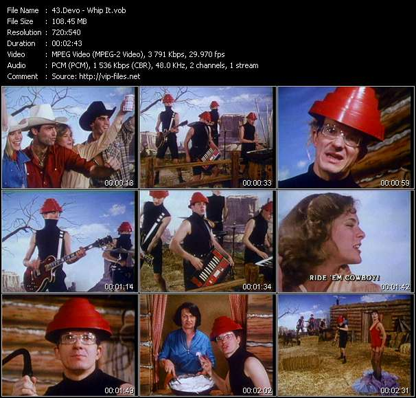 Devo video screenshot