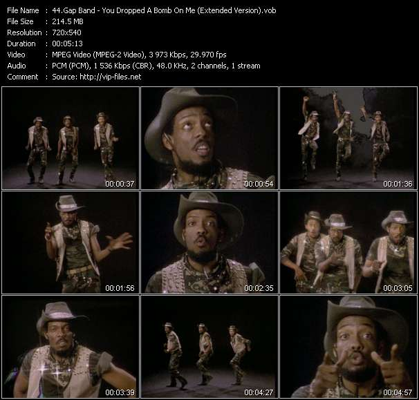 Gap Band video screenshot