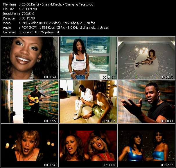 Kandi - Brian McKnight - Changing Faces video screenshot
