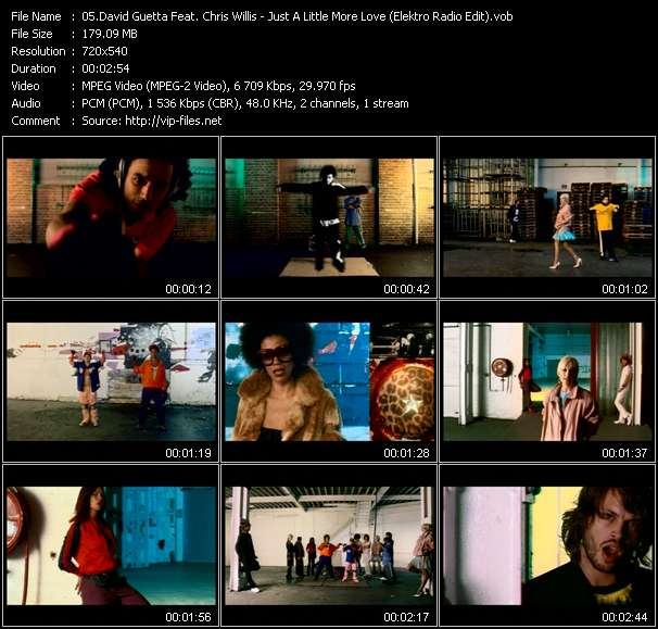 David Guetta Feat. Chris Willis video screenshot