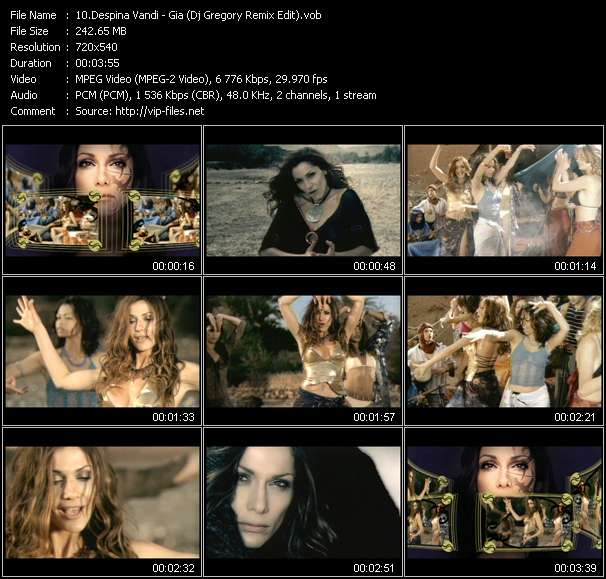 Despina Vandi video screenshot