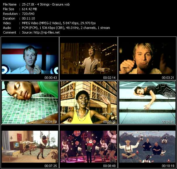 Bt - 4 Strings - Erasure video screenshot