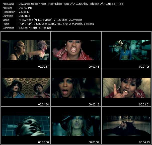 Janet Jackson Feat. Missy Elliott video screenshot