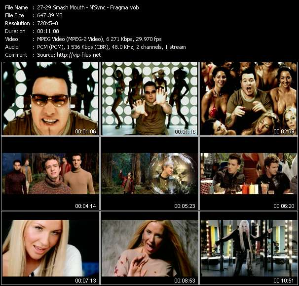 Smash Mouth - N'Sync - Fragma video screenshot