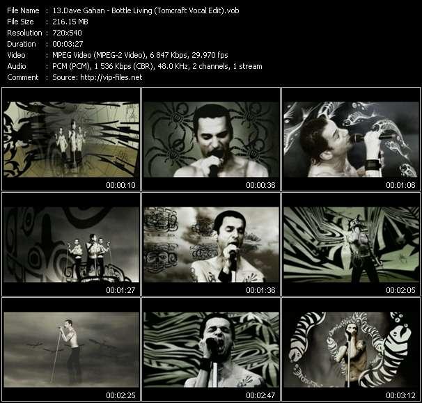 Dave Gahan video screenshot