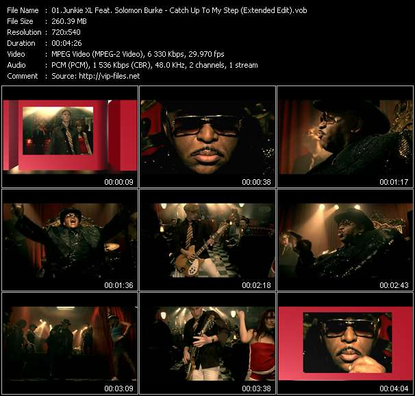 Junkie XL Feat. Solomon Burke video screenshot