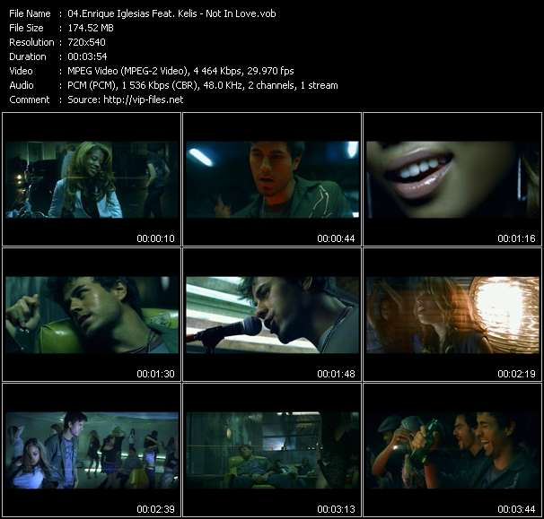 Enrique Iglesias Feat. Kelis video screenshot