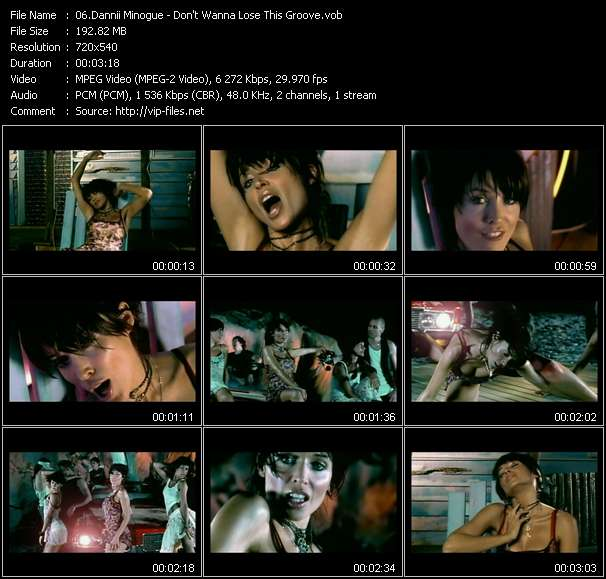 Dannii Minogue video screenshot