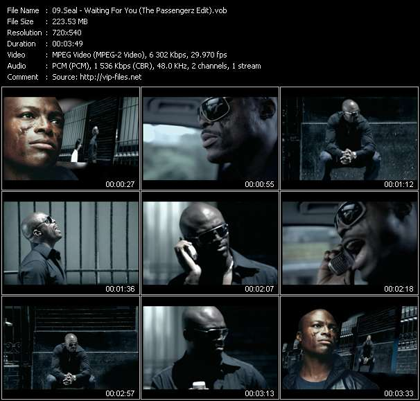 Seal video screenshot