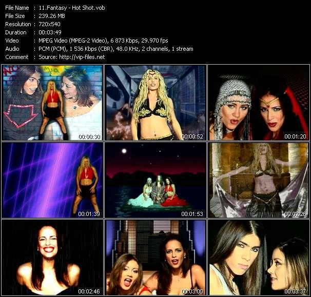 Fantasy video screenshot