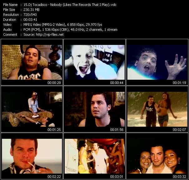 Dj Tocadisco video screenshot