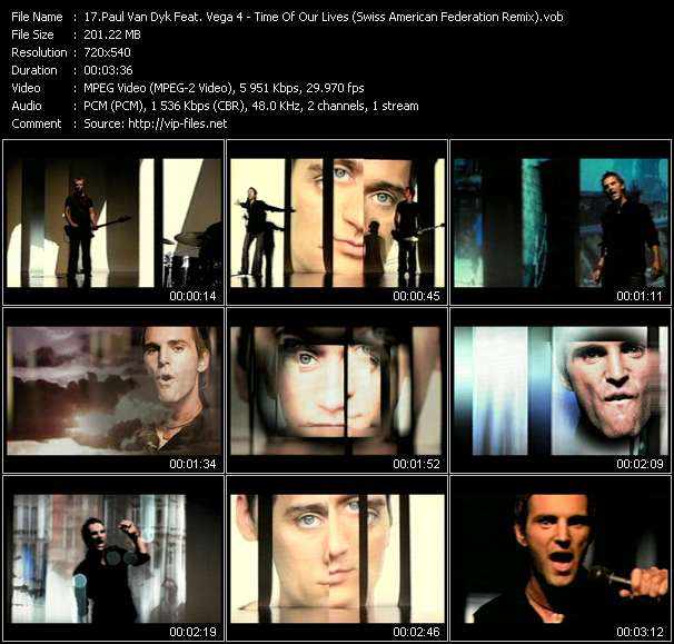Paul Van Dyk Feat. Vega 4 video screenshot