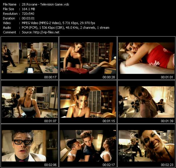 Roxane video screenshot