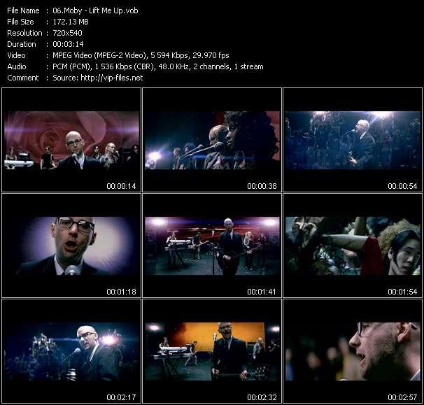 video Lift Me Up screen