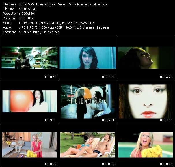Paul Van Dyk Feat. Second Sun - Plummet - Sylver video screenshot