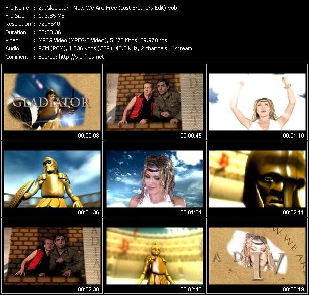 Gladiator video screenshot