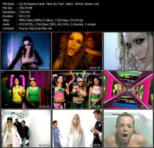 Despina Vandi - Nina Sky Feat. Jabba - Britney Spears video screenshot