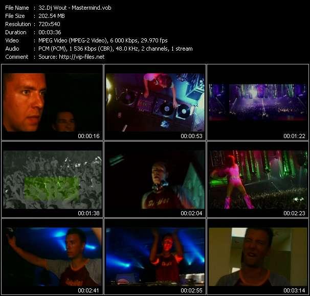 Dj Wout video screenshot