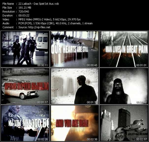 Laibach video screenshot