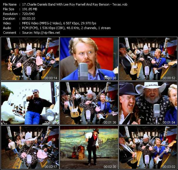 Charlie Daniels Band With Lee Roy Parnell And Ray Benson video screenshot