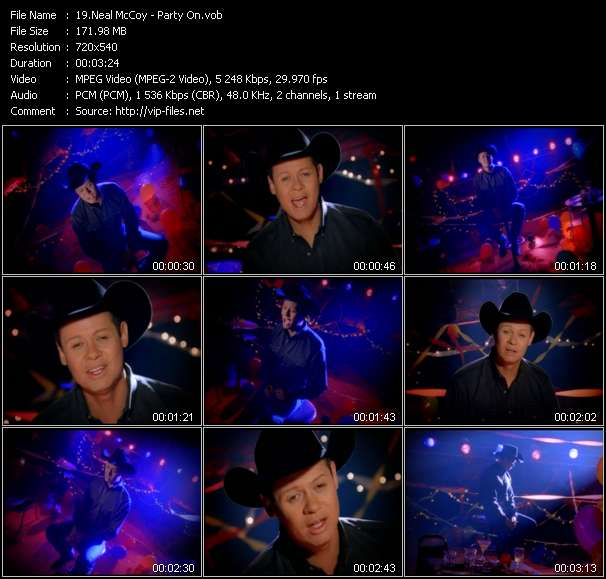 Neal McCoy video screenshot