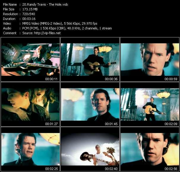 Randy Travis video screenshot