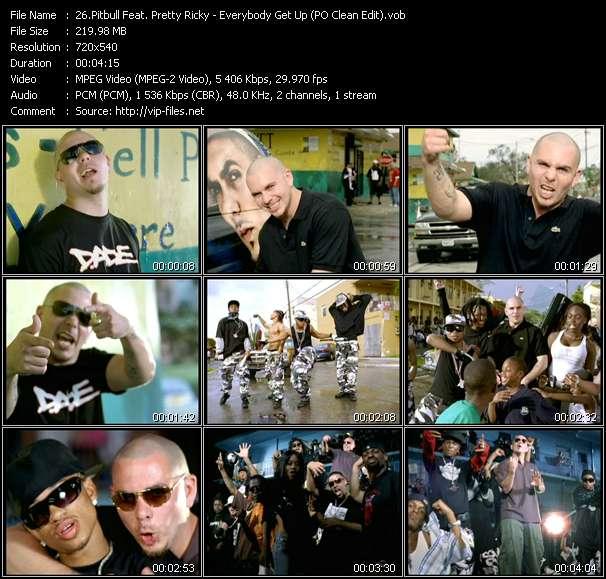 Pitbull Feat. Pretty Ricky video screenshot