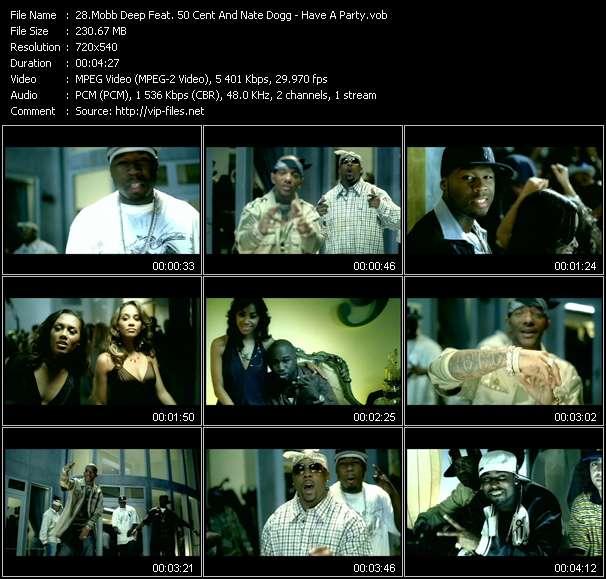 Mobb Deep Feat. 50 Cent And Nate Dogg video screenshot