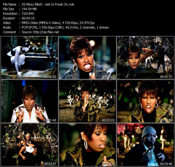 Missy Elliott video screenshot