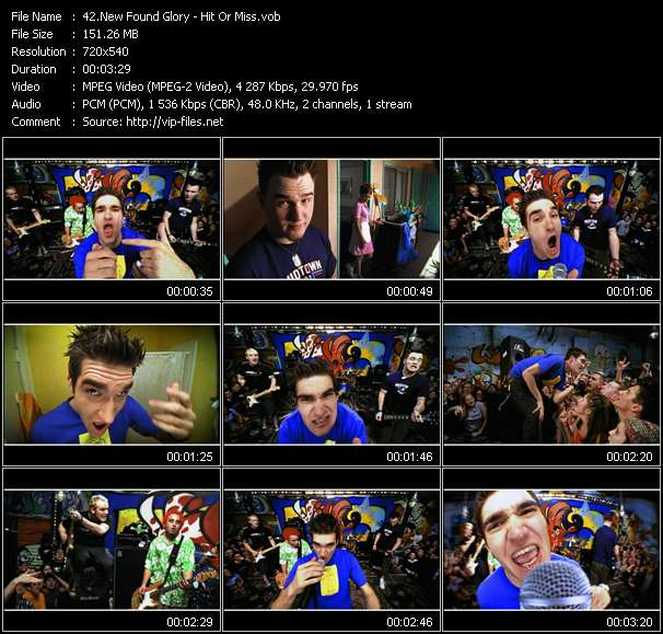 New Found Glory video screenshot