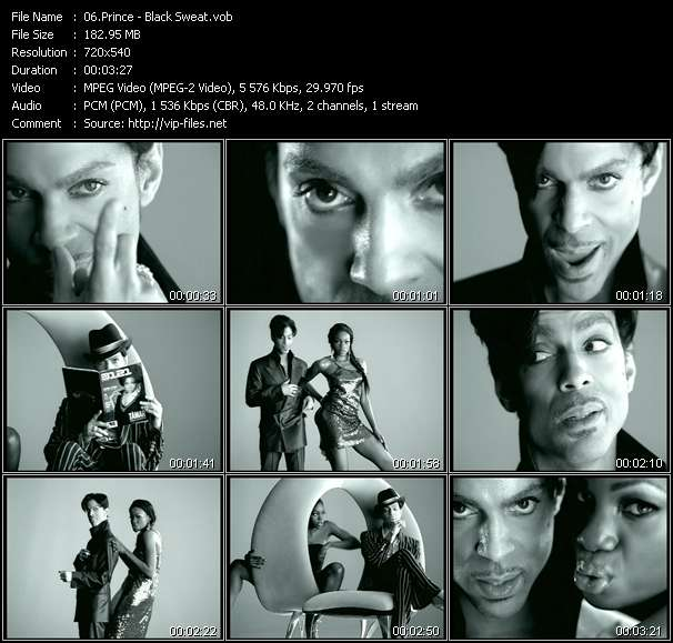 Prince video screenshot