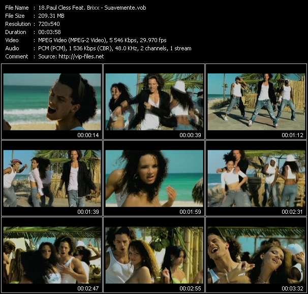 Paul Cless Feat. Brixx video screenshot