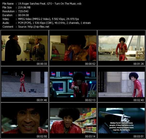 Roger Sanchez Feat. GTO video screenshot