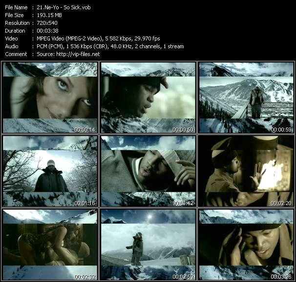 Ne-Yo video screenshot