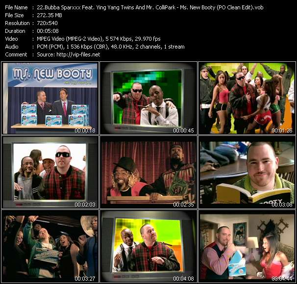 Bubba Sparxxx Feat. Ying Yang Twins And Mr. ColliPark video screenshot
