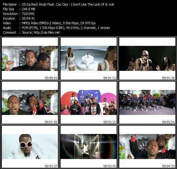 Da Back Wudz Feat. Caz Clay video screenshot
