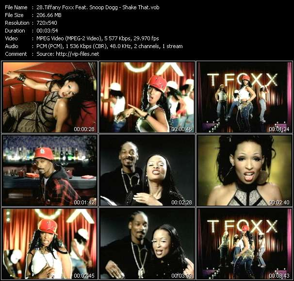 Tiffany Foxx Feat. Snoop Dogg video screenshot