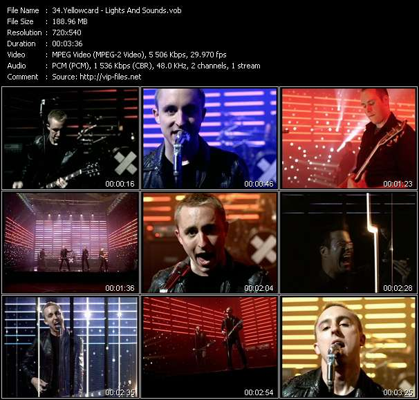 Yellowcard video screenshot