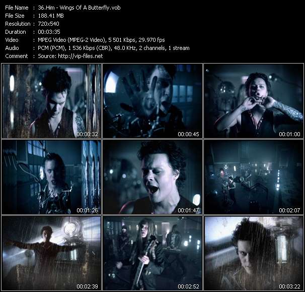 Him video screenshot