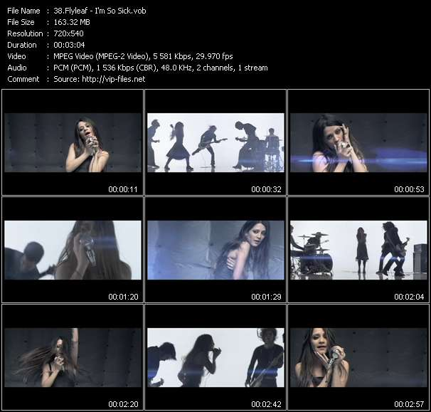 Flyleaf video screenshot