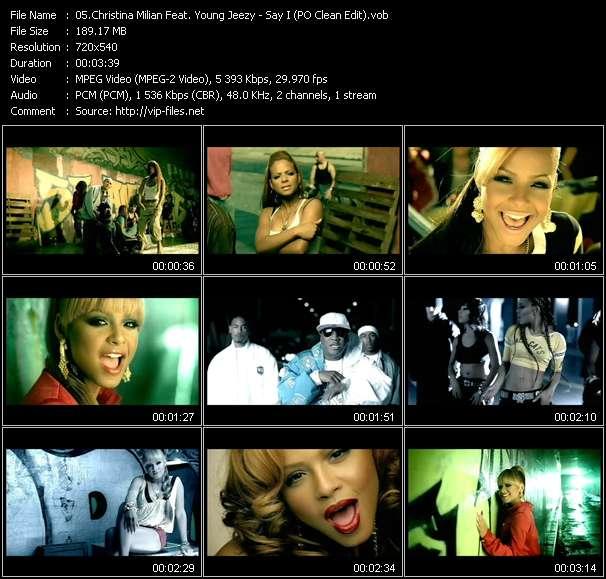 Christina Milian Feat. Young Jeezy video screenshot