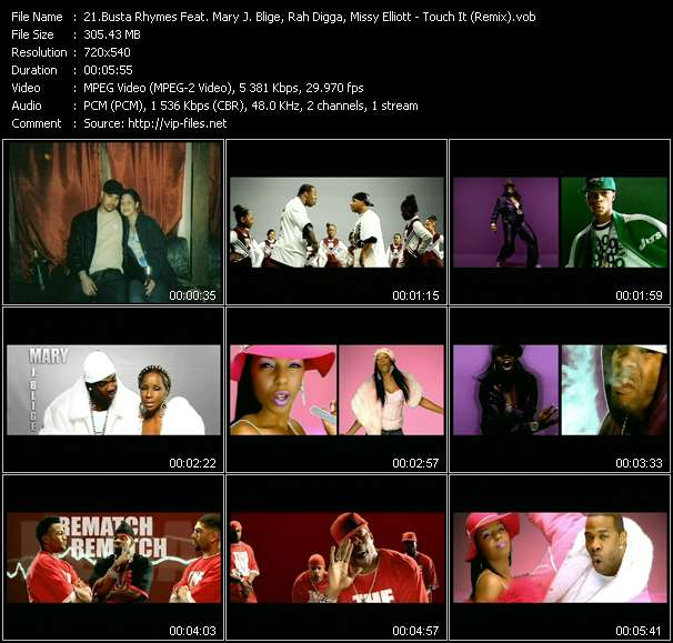 Busta Rhymes Feat. Mary J. Blige, Rah Digga, Missy Elliott, Lloyd Banks, Papoose And DMX video screenshot