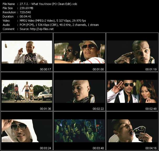 T.I. video screenshot