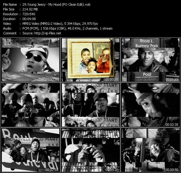 Young Jeezy video screenshot