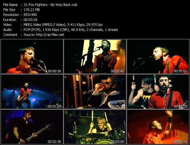 Foo Fighters video screenshot