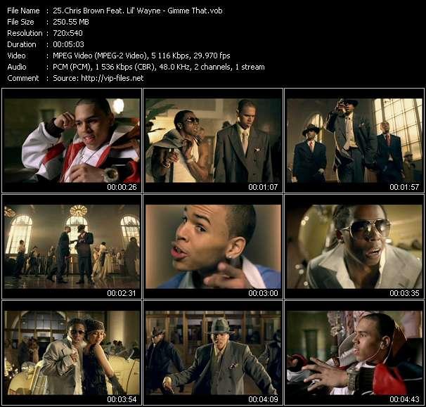 Chris Brown Feat. Lil' Wayne video screenshot